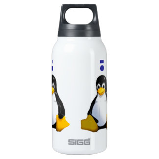 LinuxQuestions.org Logo 10 Oz Insulated SIGG Thermos Water Bottle