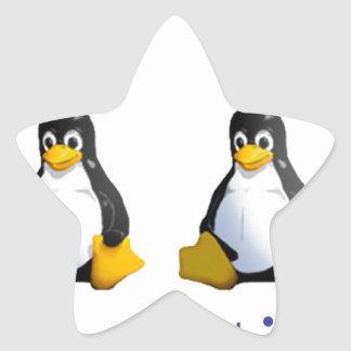 LinuxQuestions.org Logo Star Stickers