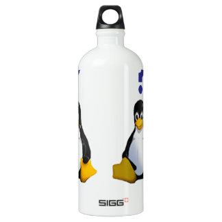 LinuxQuestions.org Logo Water Bottle