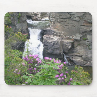 linville falls mouse pad