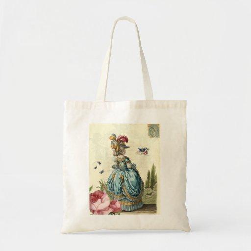 l'invitation canvas bag