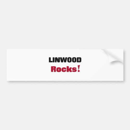 Linwood Rocks Bumper Sticker
