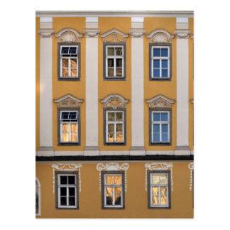 Linz windows postcard