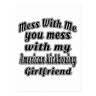 Lío conmigo que usted ensucia con mi kickboxing postal