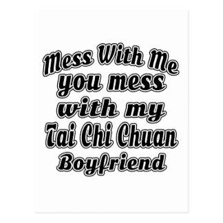 Lío conmigo usted lío con mi ji Chuan del Tai Tarjeta Postal
