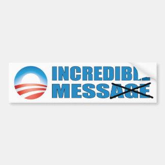 Lío increíble - Obama anti Pegatina Para Auto