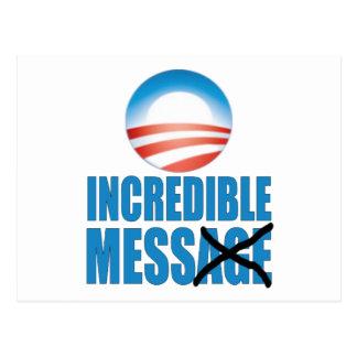 Lío increíble - Obama anti Tarjetas Postales