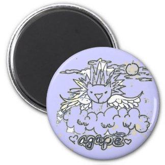 lion3 2 inch round magnet