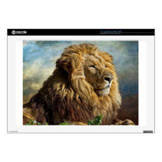 """Lion 17"""" Laptop Skins"""