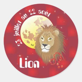 Lion 23 juillet au 22 août Autocollants