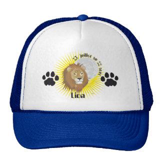 Lion 23 juillet au 22 août Casquette Gorro