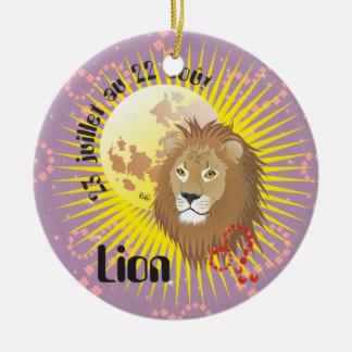 Lion 23 juillet au 22 août ornamento