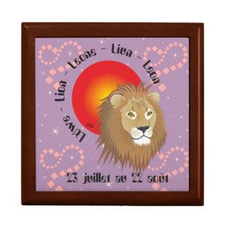Lion 23 juillet outer 22 août Coffret cadeau Gift Box
