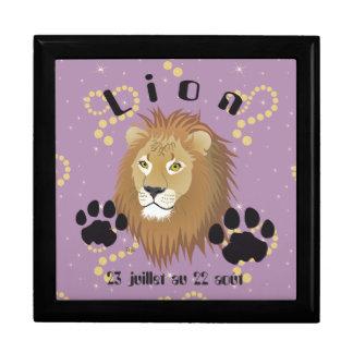 Lion 23 juillet outer 22 août Coffret cadeau Jewelry Box