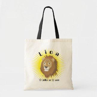 Lion 23 juillet outer 22 août Sac Tote Bag