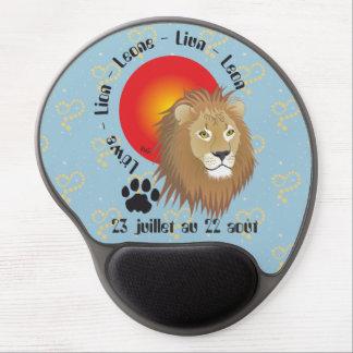Lion 23 juillet outer 22 août Tapi de souri Gel Mouse Pad