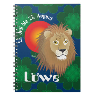 _lion 23. July to 22. August booklet Notebooks