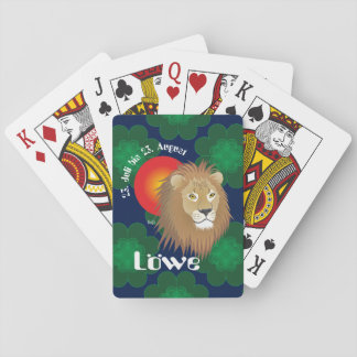 _lion 23. July to 22. August pack of cards