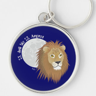_lion 23. July to 22. August supporter Keychains