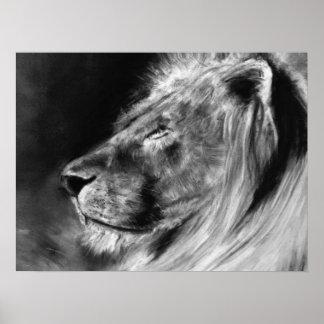 lion 24X18 poster