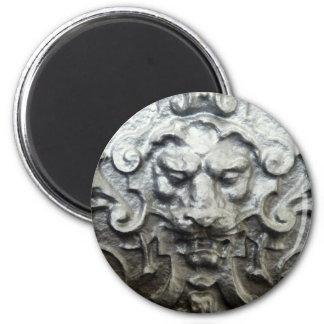 Lion 2 Inch Round Magnet