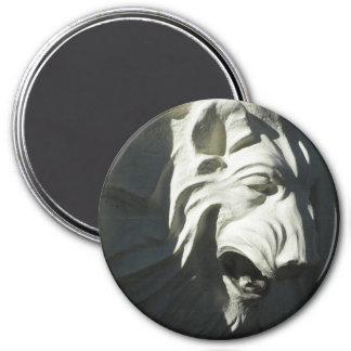 Lion 3 Inch Round Magnet