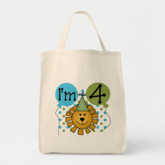 Lion 4th Birthday T-shirts and Gifts Bags