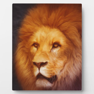 lion-6175 plaque
