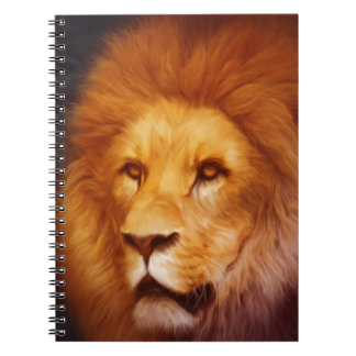 lion-6175 spiral notebook