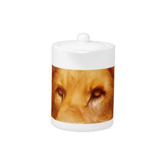 lion-6175 teapot