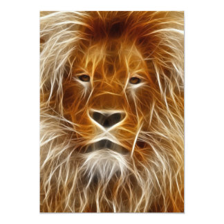 lion-66898 INCREDIBLE DIGITAL ARTWILD ANIMALS BIG Card