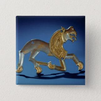 Lion, 6th- 7th century BC Pinback Button