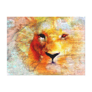 Lion Abstract canvas Print