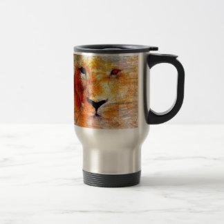 Lion Abstract Gifts Travel Mug