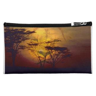 Lion African Sunset Makeup Bag