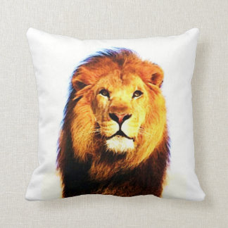 Lion American MoJo Pillow