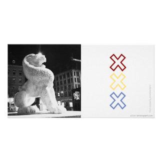 Lion Amstergram Card