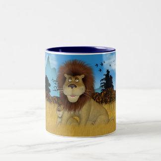 Lion And Cub Mug