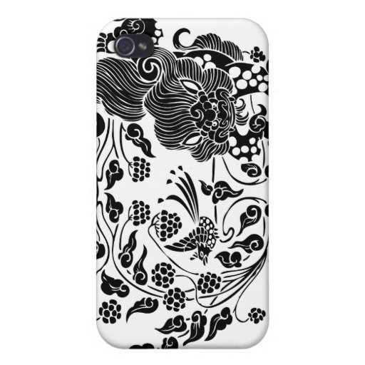 Lion and Grapes 獅子葡萄 iPhone 4/4S Case
