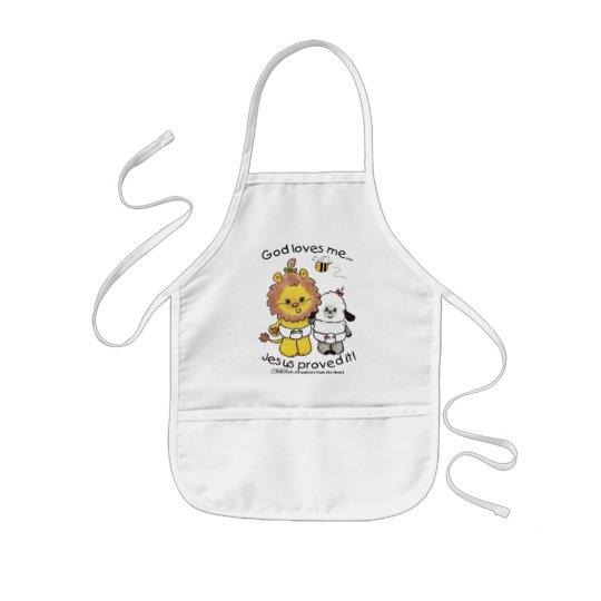 Lion and Lamb Babies Kids' Apron