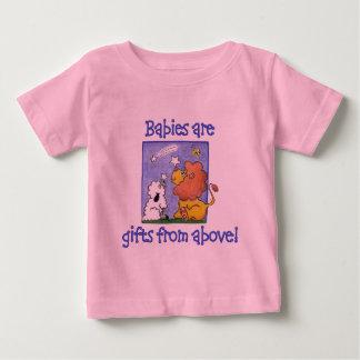 Lion and Lamb catch falling stars Baby T-Shirt