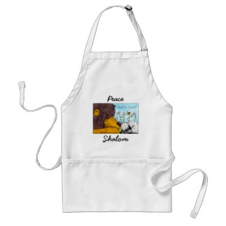 Lion and Lamb Gentle Peace Adult Apron