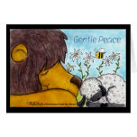 Lion and Lamb Gentle Peace Card
