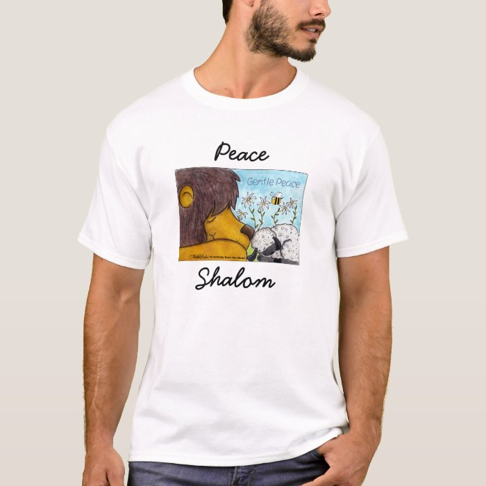 Lion and Lamb Gentle Peace T-Shirt