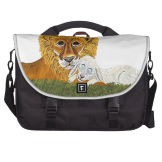 Lion And Lamb Bags For Laptop