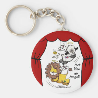 Lion and Lamb-Play Angels Key Chains