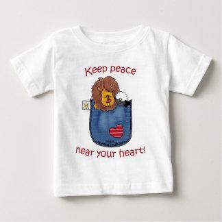 Lion and Lamb pocket pals Baby T-Shirt