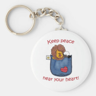 Lion and Lamb pocket pals Keychains