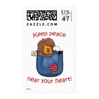 Lion and Lamb pocket pals Postage