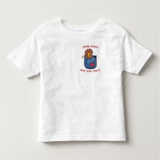 Lion and Lamb pocket pals Toddler T-shirt